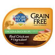 Nature's Recipe Grain Free Chicken & Duck in Broth Dog Food