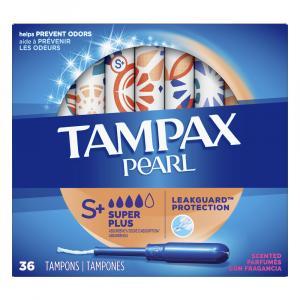 Tampax Pearl 2x Super Plus Fresh Scent Tampons