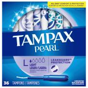 Tampax Pearl Lites Unscented Tampons