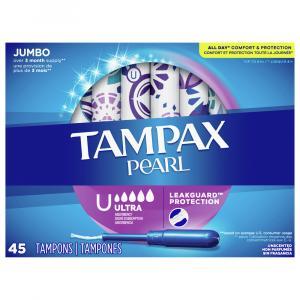 Tampax Pearl Jumbo Ultra Absorbency