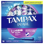 Tampax Pearl Ultra Unscented Tampons