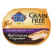 Nature's Recipe Grain Free Chicken in Broth Dog Food