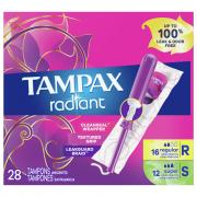 Tampax Radiant Duopack Tampons