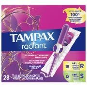 Tampax Radiant Duopack Tampons