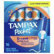 Tampax Pocket Pearl Super Plus Unscented Tampons