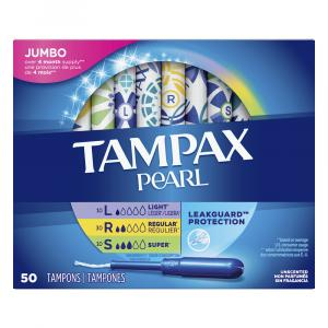 Tampax Pearl Multipax Unscented Tampons