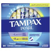 Tampax Pearl Duo Pack Light and Regular Leakguard Protection