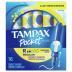Tampax Pocket Pearl Regular Unscented Tampons
