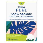 Tampax Pure Organic Regular Tampons