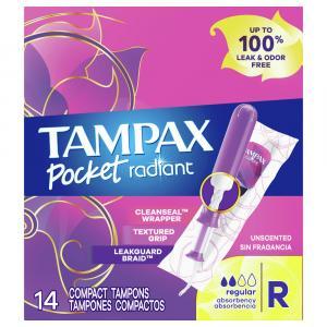 Tampax Pocket Radiant Regular