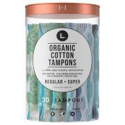 L Organic Cotton Tampons Regular & Super