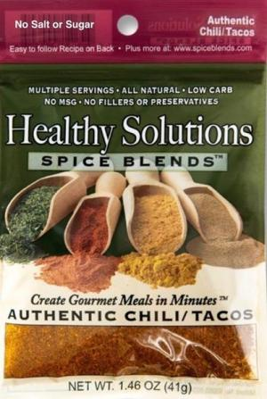 Healthy Solutions Chili Spice Blend