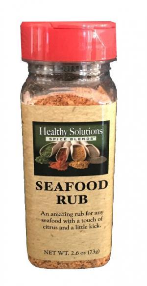 Healthy Solutions Seafood Rub