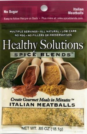 Healthy Solutions Italian Meatball Spice Blend