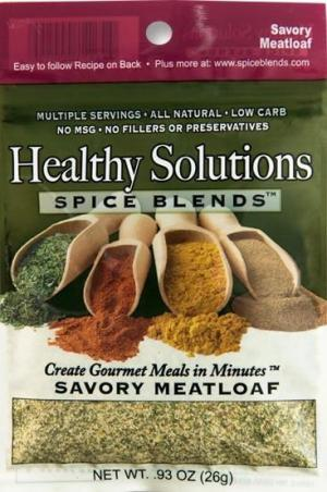 Healthy Solutions Meatloaf Spice Blend