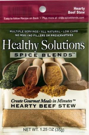 Healthy Solutions Crock Pot Beef Stew Spice Blend