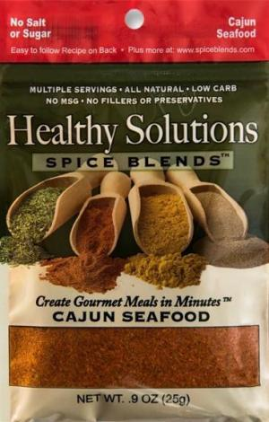 Healthy Solutions Cajun Style Seafood Spice Blend