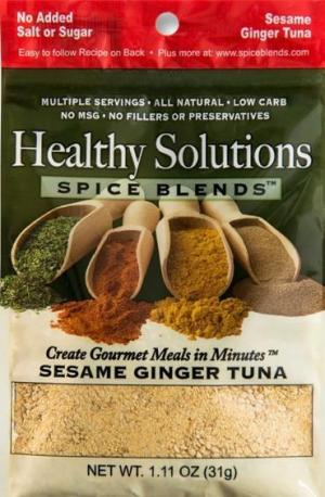 Healthy Solutions Sesame Ginger Tuna Spice Blend