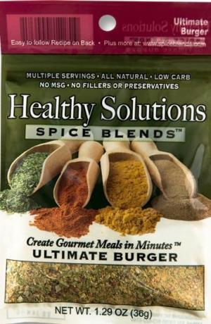 Healthy Solutions Ultimate Burger Spice Blend