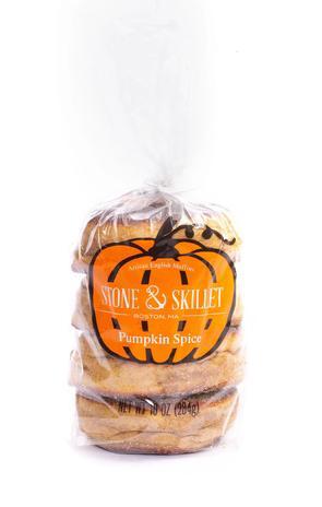 Stone & Skillet Pumpkin Spice English Muffins