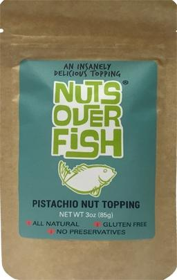 Nuts Over Fish Pistachio Nut Topping
