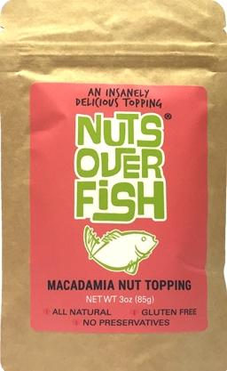 Nuts Over Fish Macadamia Nut Topping