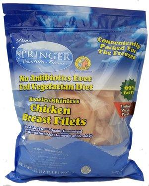 Springer Mountain Farms Gluten Free Chicken Breast Fillets