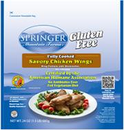 Springer Mountain Farms Gluten Free Wings
