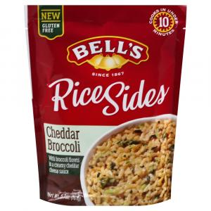 Bell's Rice Sides Cheddar Broccoli