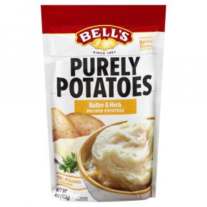 Bell's Purely Potatoes Butter & Herb Mashed Potatoes