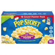 Pop Secret Movie Theatre Butter Popcorn