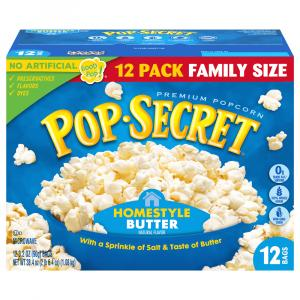 Pop Secret Homestyle Popcorn