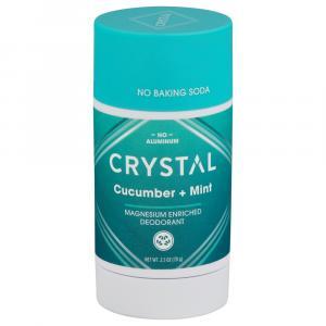 Crystal Cucumber & Mint Magnesium Enriched Deodorant