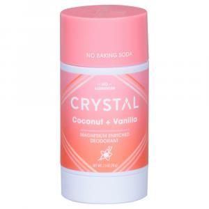 Crystal Coconut & Vanilla Magnesium Enriched Deodorant