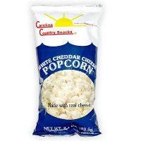 Carolina Country White Cheddar Cheese Popcorn