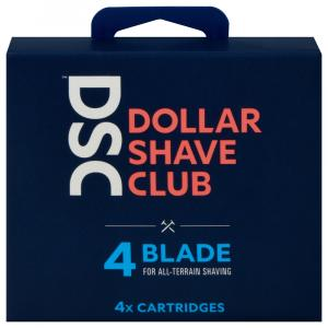 Dollar Shave Club 4-Blade Cartridges
