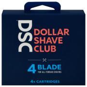 Dollar Shave Club 4-Blade Cartridges