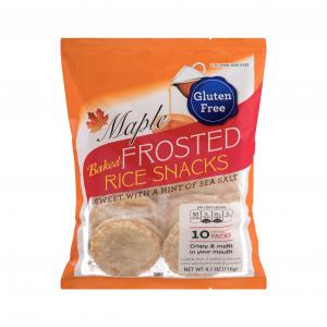 Kameda Gluten Free Frosted Maple Rice Snacks