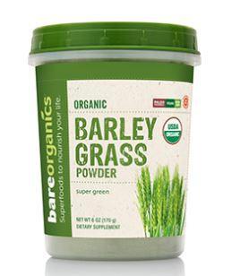 Bare Organics Raw Organic Barley Grass