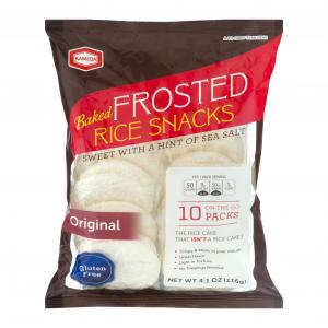 Kameda Gluten Free Frosted Rice Snacks