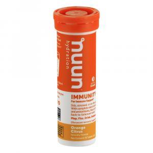Nuun Orange Citrus Immunity Supplement Tablets