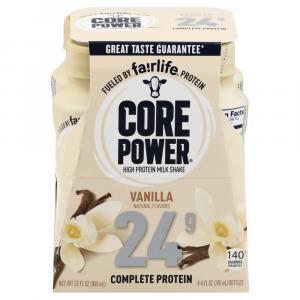Core Power Vanilla Milkshake