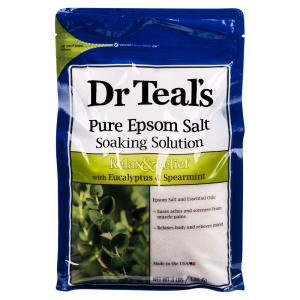 Dr Teal's Pure Epsom Salt Relax & Relief Soaking Solution