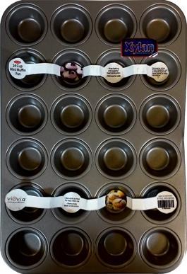 24-Mini Muffin Heavy Duty Pan