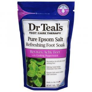 Dr. Teal's Pure Epsom Salt Cooling Peppermint Foot Soak