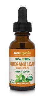 Bare Organics Organic Oregano Leaf Liquid Drops