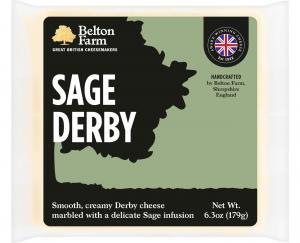 Belton Farm Sage Derby Cheese