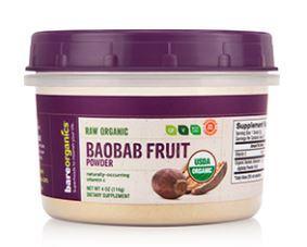Bare Organics Raw Organic Baobab Fruit
