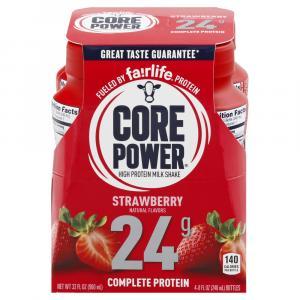 Core Power Strawberry Milkshake