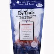 Dr Teal's Pink Himalayan Ultra Moisturizing Bath Bombs